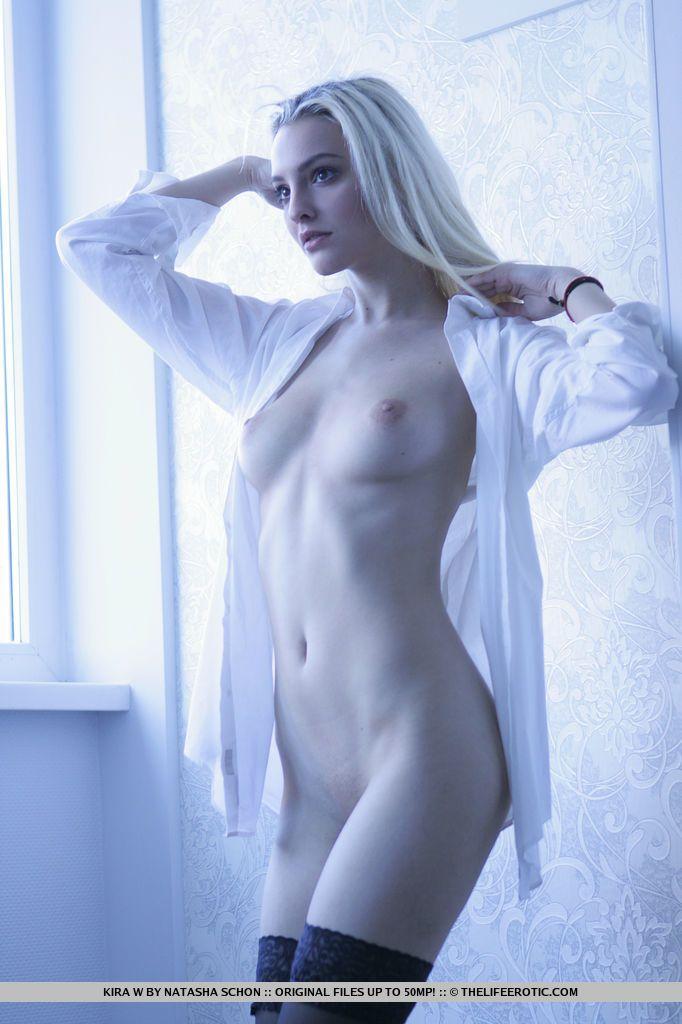 Kira W - SHEER WHITE 02