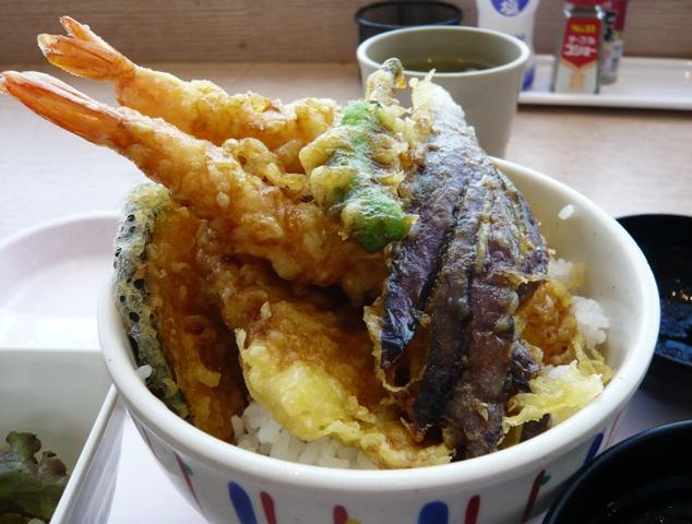 魚がし:天丼2