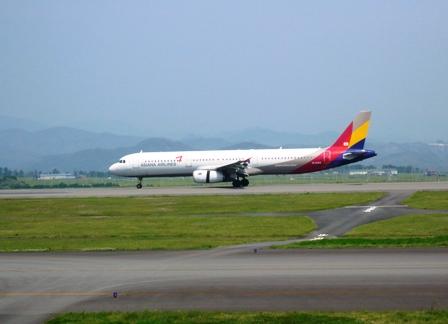 富士山静岡空港:アシアナ航空