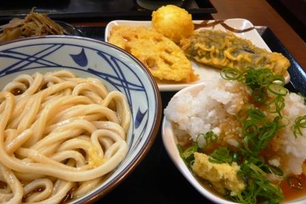 丸亀製麺:鬼おろし肉ぶっかけ