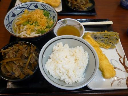 丸亀製麺:肉ぶっかけ