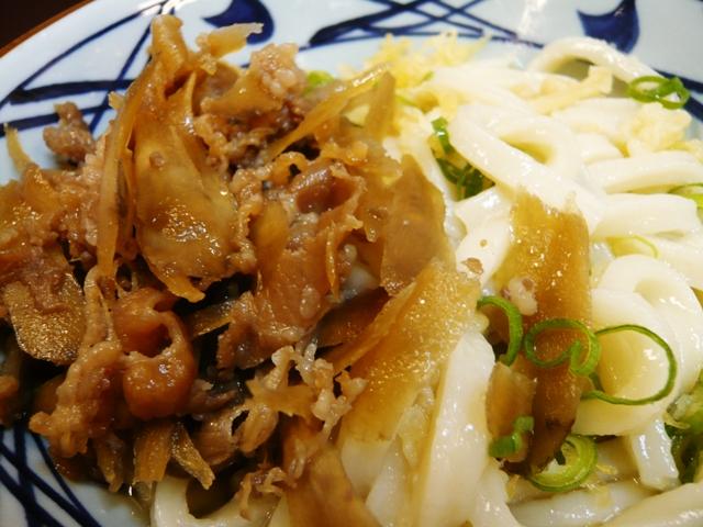 丸亀製麺:肉ぶっかけ2