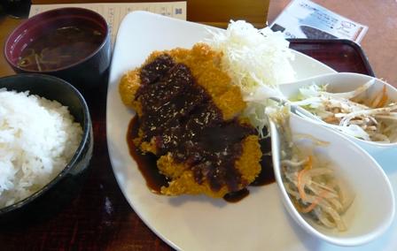 葉若:トンカツ定食(味噌)2