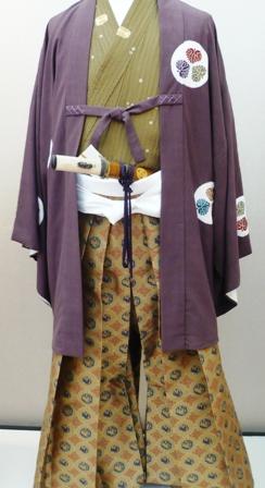駿府泰平天下まつり:NHK黒田勘兵衛の家康の着物