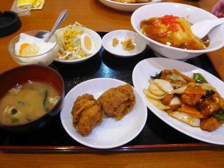 龍麒園:酢豚定食