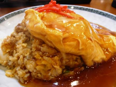 龍麒園:天津炒飯