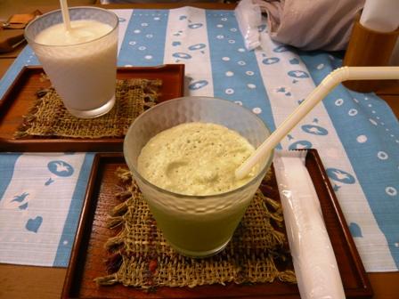ペイゾン澤木:抹茶ミルク、甘酒ヨーグルト