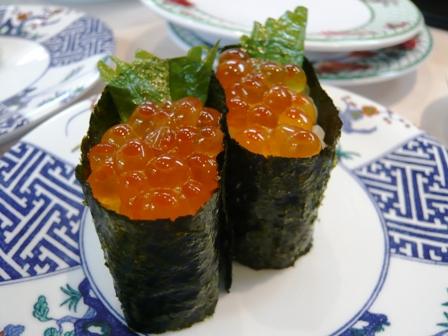 にこにこ寿司:いくら