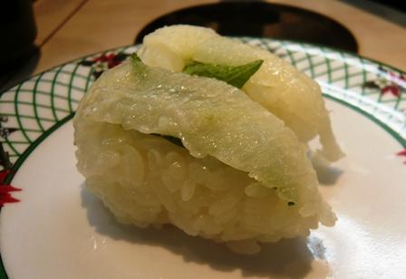 にこにこ寿司:えんがわ