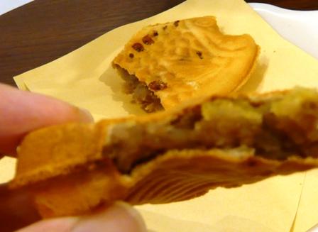 幸せの黄金鯛焼き:甘栗こしあん