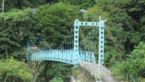 柳瀬のつり橋
