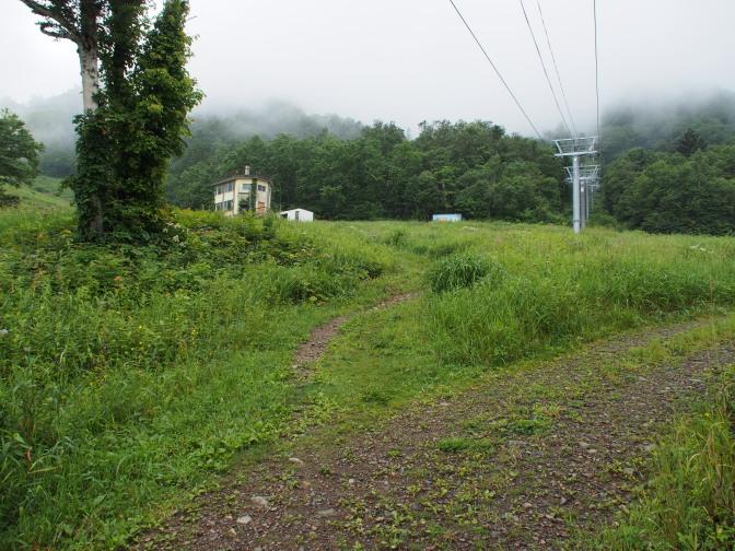 分岐(左へ)