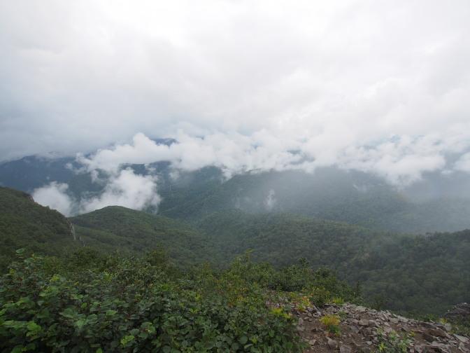 手稲山山頂からの眺め