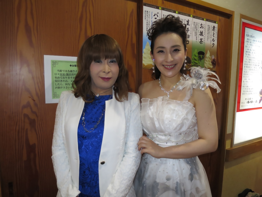 水田竜子さんとツーショット(1)