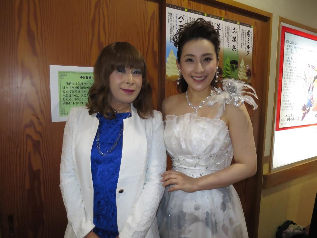 水田竜子さんとツーショット(2)