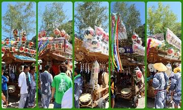 H27082203式年鳥居木曳祭