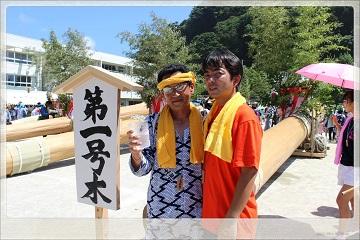 H27082207式年鳥居木曳祭