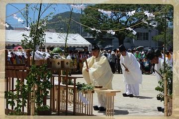 H27082208式年鳥居木曳祭