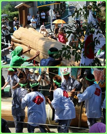 H27082222式年鳥居木曳祭