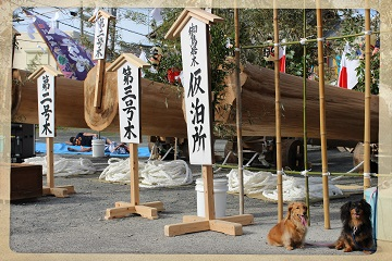 H27082305式年鳥居木曳祭