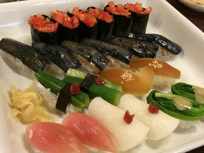 20150822野菜寿司
