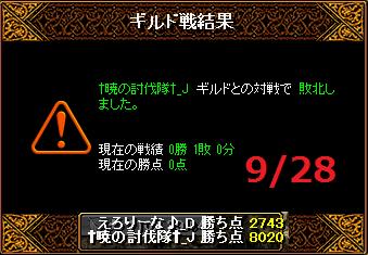 928えろりなvs†暁の討伐隊†