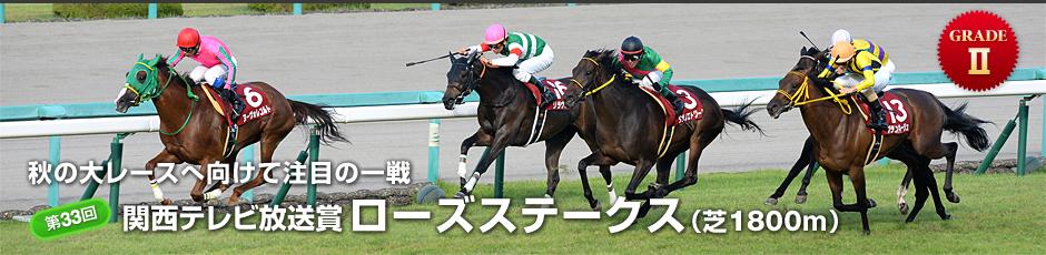 第33回 関西テレビ放送賞 ローズステークス(秋華賞トライアル)
