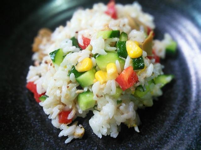 24サラダご飯