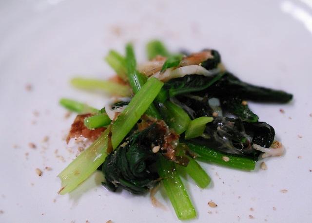29小松菜のかつお節おひたし