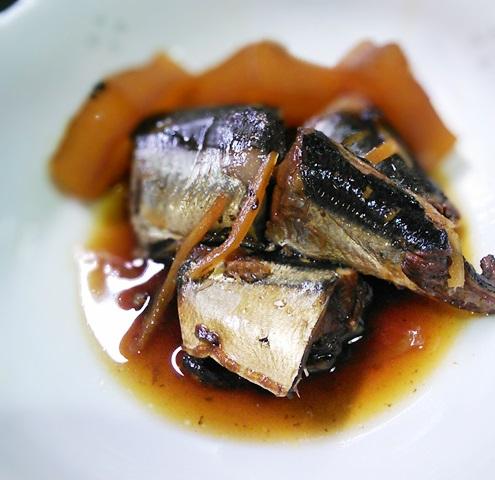 秋刀魚と大根の佃煮