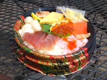 6種の彩り海鮮丼