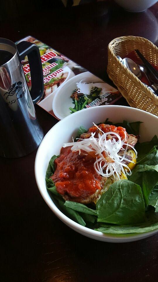 信州ハーブ鶏のイタリアングリル丼
