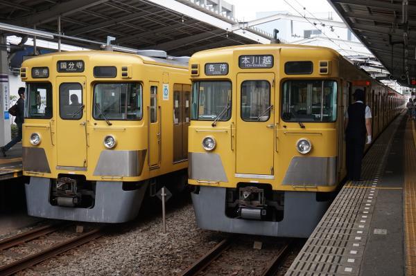2015-08-22 西武2009F 2033F