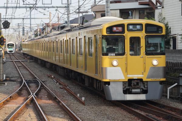 2015-08-22 西武2069F 急行飯能行き 2153レ