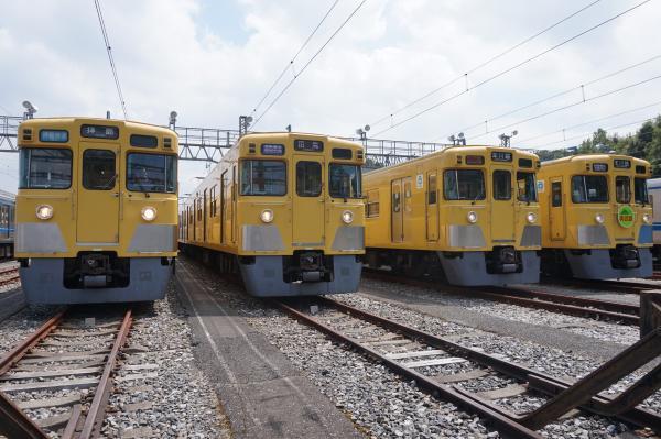2015-08-22 西武2403F 2407F 2419F 2411F 2
