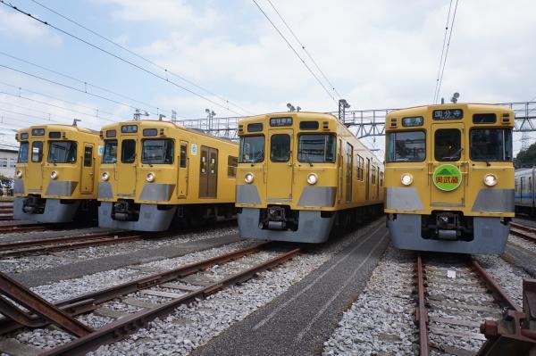 2015-08-22 西武2403F 2407F 2419F 2411F 4