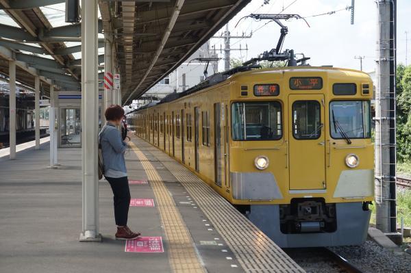 2015-08-22 西武2413F+2019F 各停小平行き 5404レ