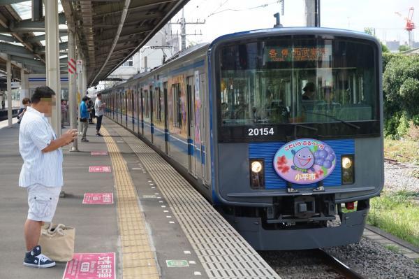 2015-08-22 西武20154F 各停西武新宿行き 5328レ