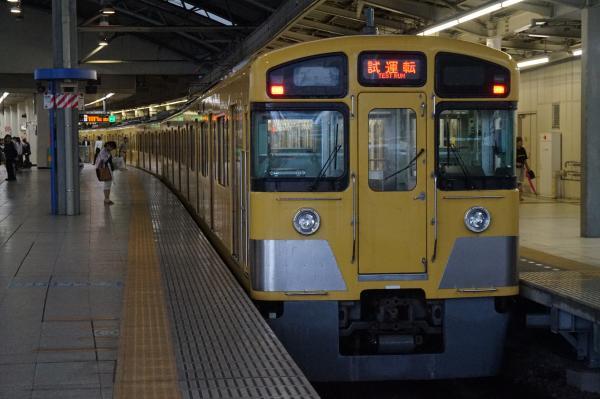 2015-08-26 西武2097F 試運転2