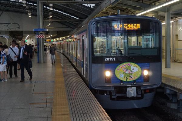 2015-08-26 西武20151F 各停石神井公園行き 5611レ