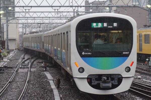 2015-08-26 西武32105F+38107F 準急飯能行き 4149レ