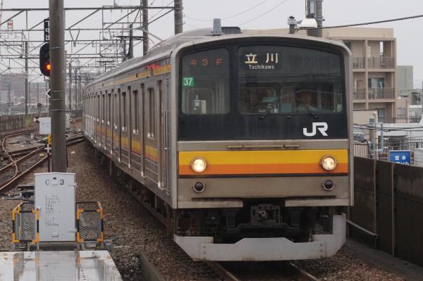 2015-08-26 南武線205系ナハ37編成 立川行き