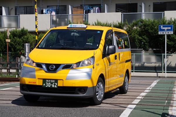 2015-09-19 黄色いタクシー