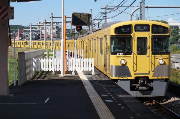 2015-09-19 西武2069F 各停飯能行き 5034レ