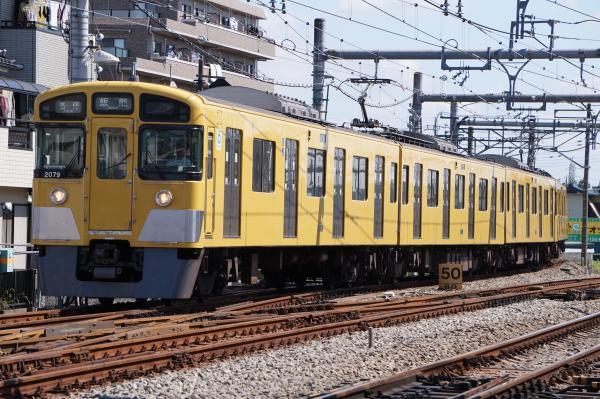 2015-09-19 西武2079F 各停飯能行き1