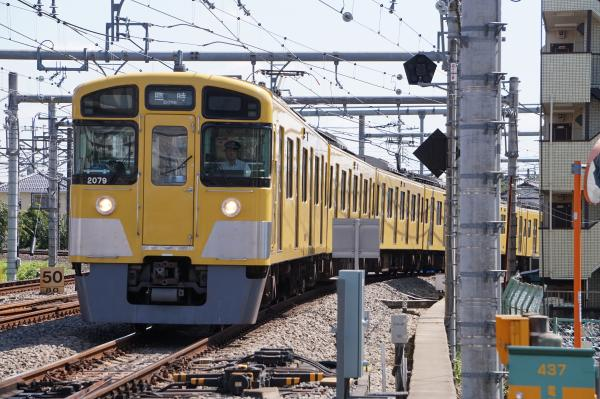 2015-09-19 西武2079F 臨時回送