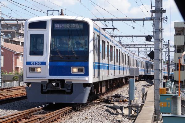 2015-09-19 西武6156F 快速急行元町・中華街行き1 1709レ