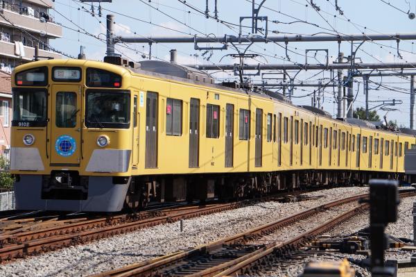 2015-09-19 西武9102F 回送2