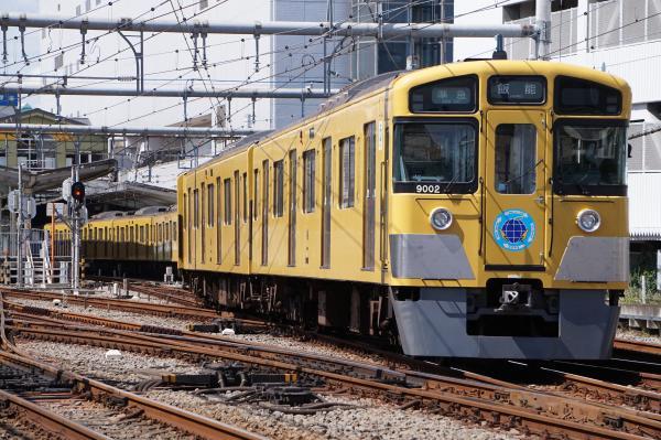 2015-09-19 西武9102F 準急飯能行き2 4123レ