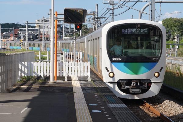 2015-09-19 西武38114F 快速急行西武新宿行き 5038レ